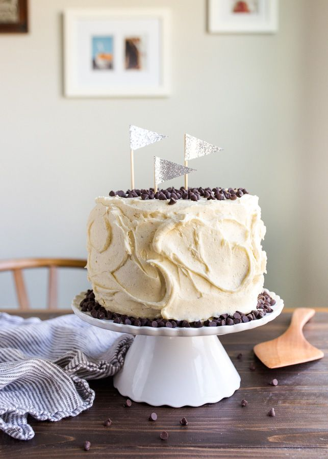 Cookie Dough Cake For Two Chocolate Chip Cookie Dough