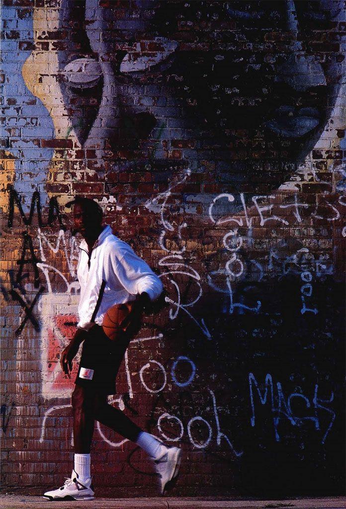 Michael Jordan  Graffiti  Nike Air Jordan Poster (1989)  f6282bfcb28e