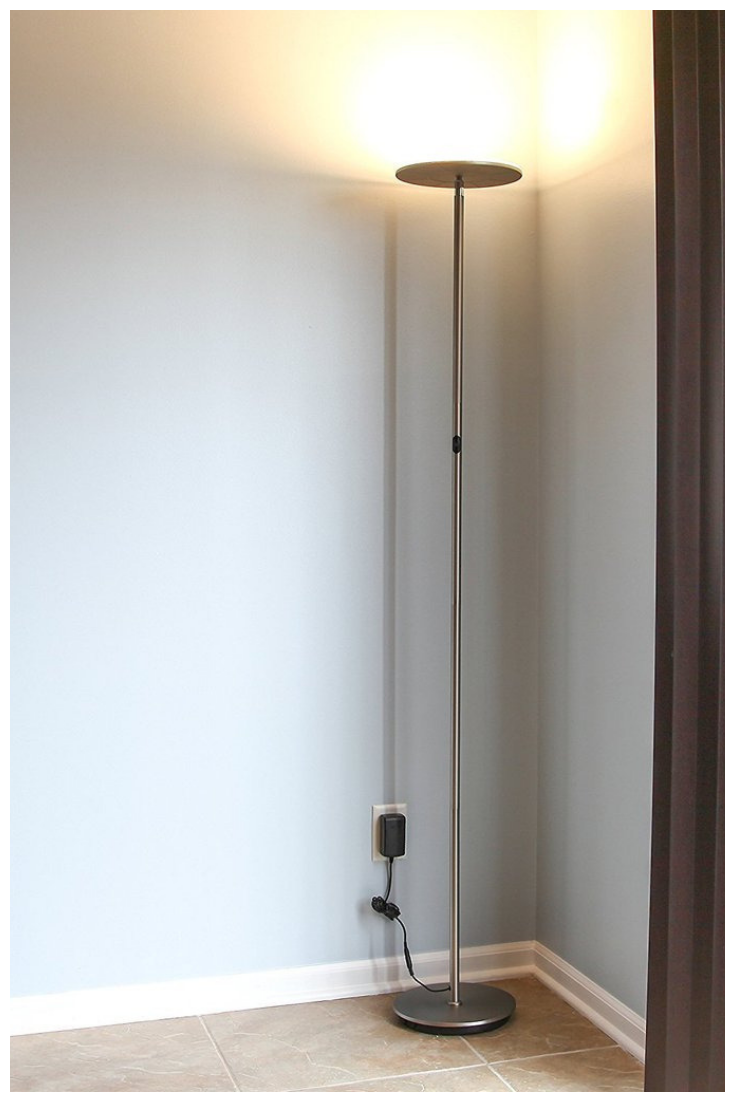 Capable Of Both Mood And Task Lighting, Brightechu0027s SKY LED Torchiere Floor  Lamp Solves Your Home Or Office Needs Brightly And Efficiently.