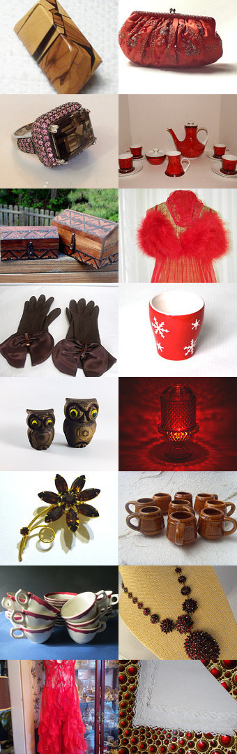 Coffee and Raspberry Scones - Vintage Explosion by Chris K on Etsy--Pinned with TreasuryPin.com