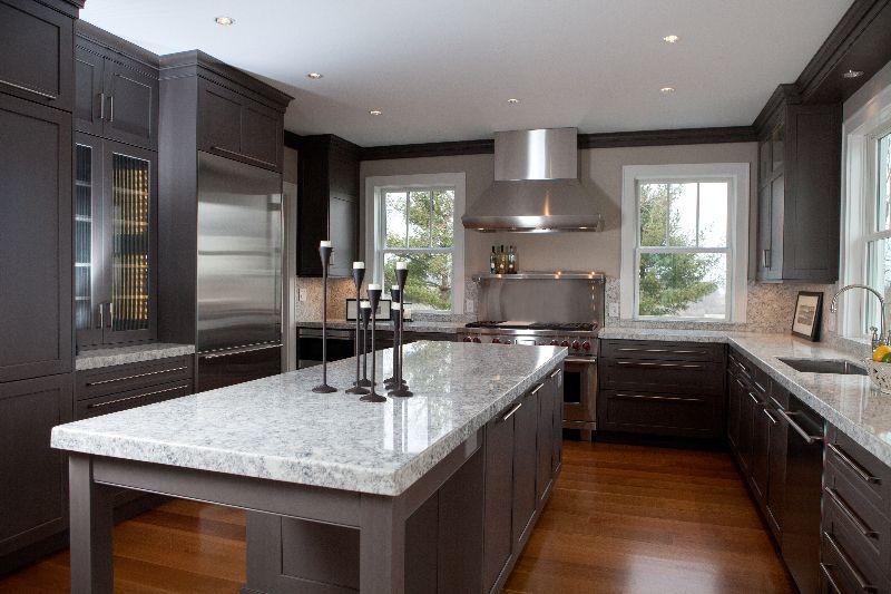 granite in a farmhouse kitchen kitchen island design kitchen remodel granite sink on farmhouse kitchen granite countertops id=29312