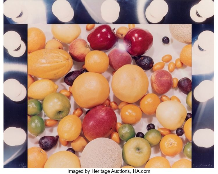 Photographs:Dye-transfer, Ed Ruscha (b. 1937). Makeup dept., from the Artists andPhotographs portfolio, 1975. Dye-transfer print on acetate. ...