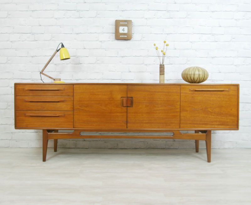 Beithcraft mid century retro vintage teak danish style for 1960s furniture designers