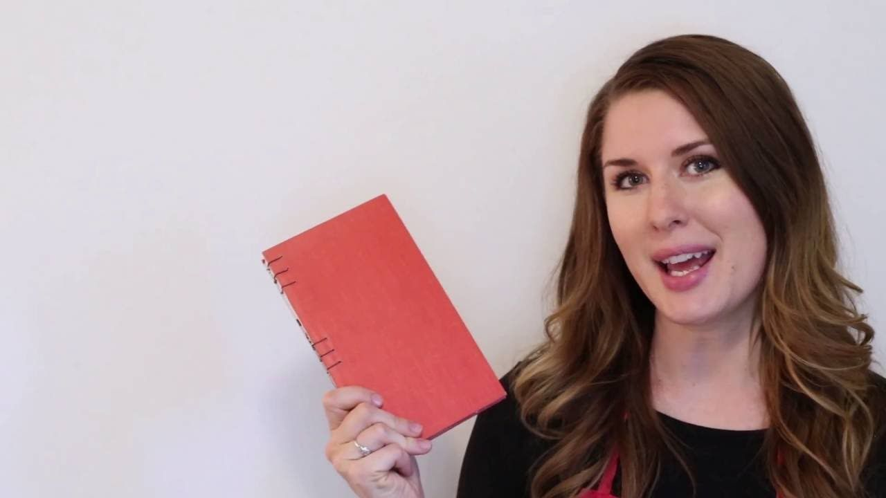 Learn how to make an upcycled book! With a coptic stitch binding, this is a fun and simple way to make your own book. Here's where you can find some of the s...