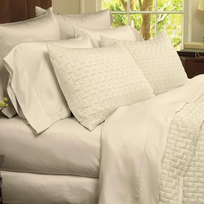 Bamboo Sheets Set Made From Bamboo Rayon At Brookstone Buy Now