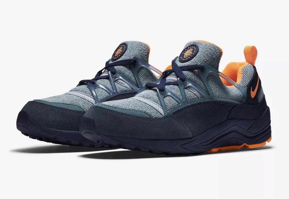 f65c03ee5524 ... low price nike air huarache light 306127 402 navy orange size 11 mens  running sneaker nike ...