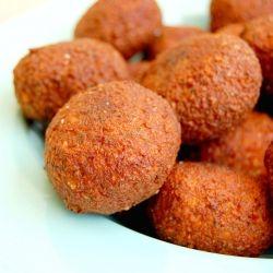 FALAFELS - A Middle Eastern Snack.