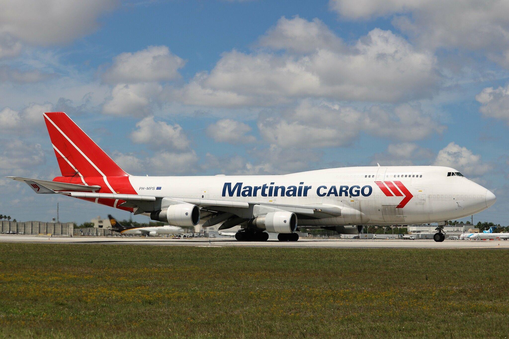 Martinair Holland 747 Boeing aircraft, Holland, Cargo