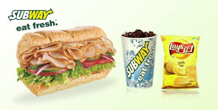 Savour Your Favourite 6 Inch Subway Sandwich Along With Chips Or A Cookie And A Drink For Aed 13 Value Aed 26 Food Yummy Dinners Good Food