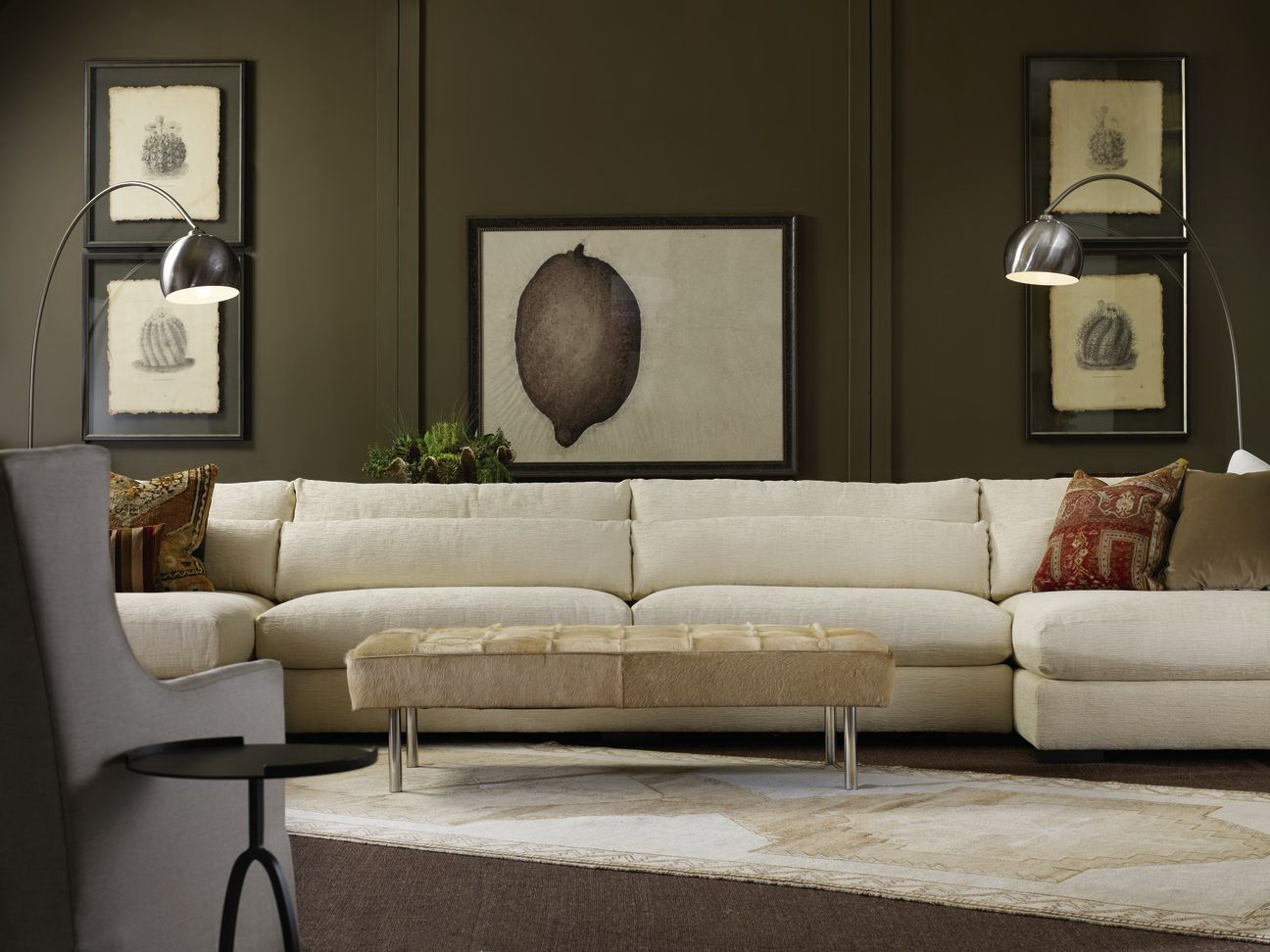 7822 Sectional By Lee Industries Love The Casual Elegance Lee Industries Sectional Furniture Lee Industries Sofa