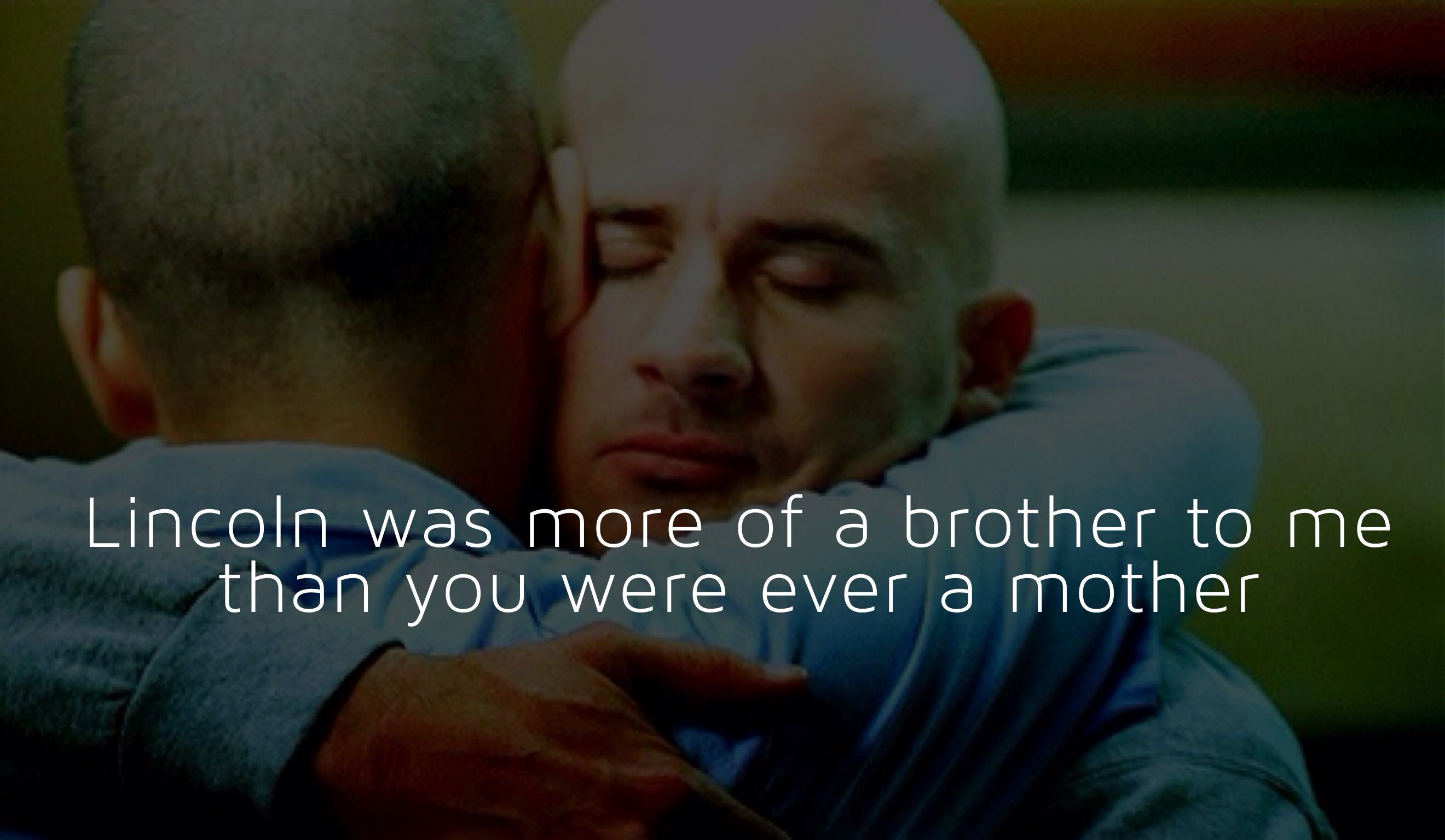 Michael Scofield And Lincoln Burrows Prison Break Prison Break