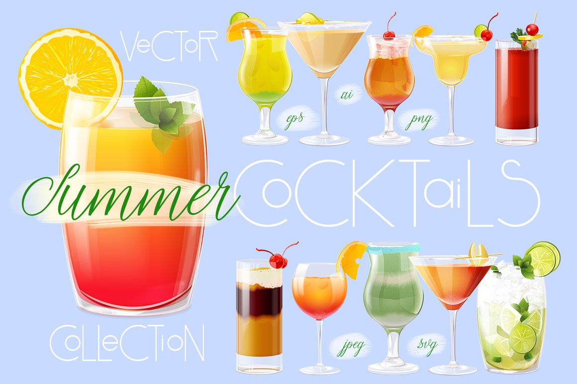 Charmant Summer Cocktails