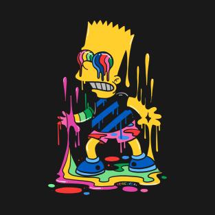 T Shirts Teepublic Simpsons Art Bart Simpson Art Simpsons Drawings