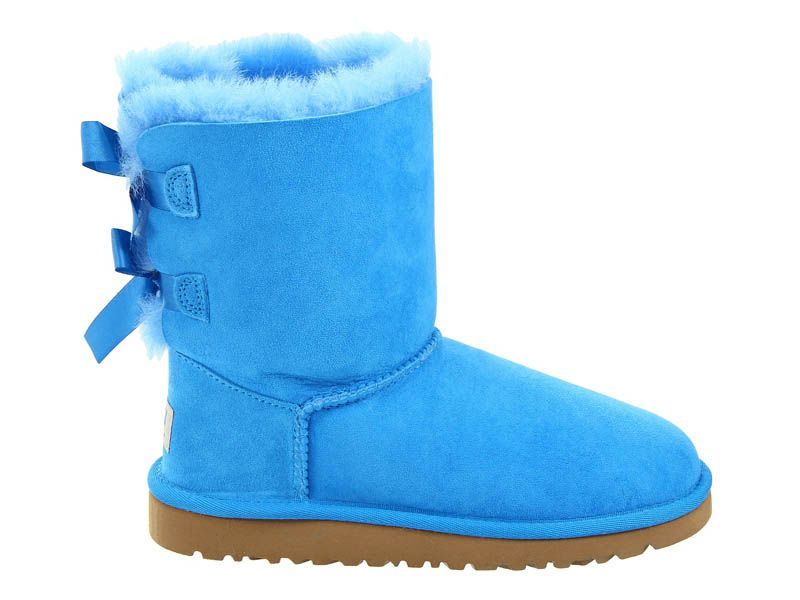 UGG Australia Bailey Bow Women's Boots Blue Sky