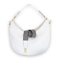d0b886eb431a5 Hobo Bag - FRIDA almond milk - vegan bag made of appleskin - apple leather -
