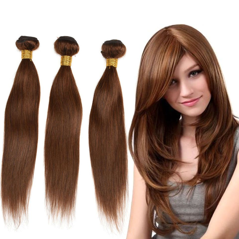 Hair Extensions & Wigs Generous Color 27 Bundles With Closure Honey Blonde Bundles With Closure Brazilian Hair Weave Straight Human Hair 3 Cheap Bundles Human Hair Weaves