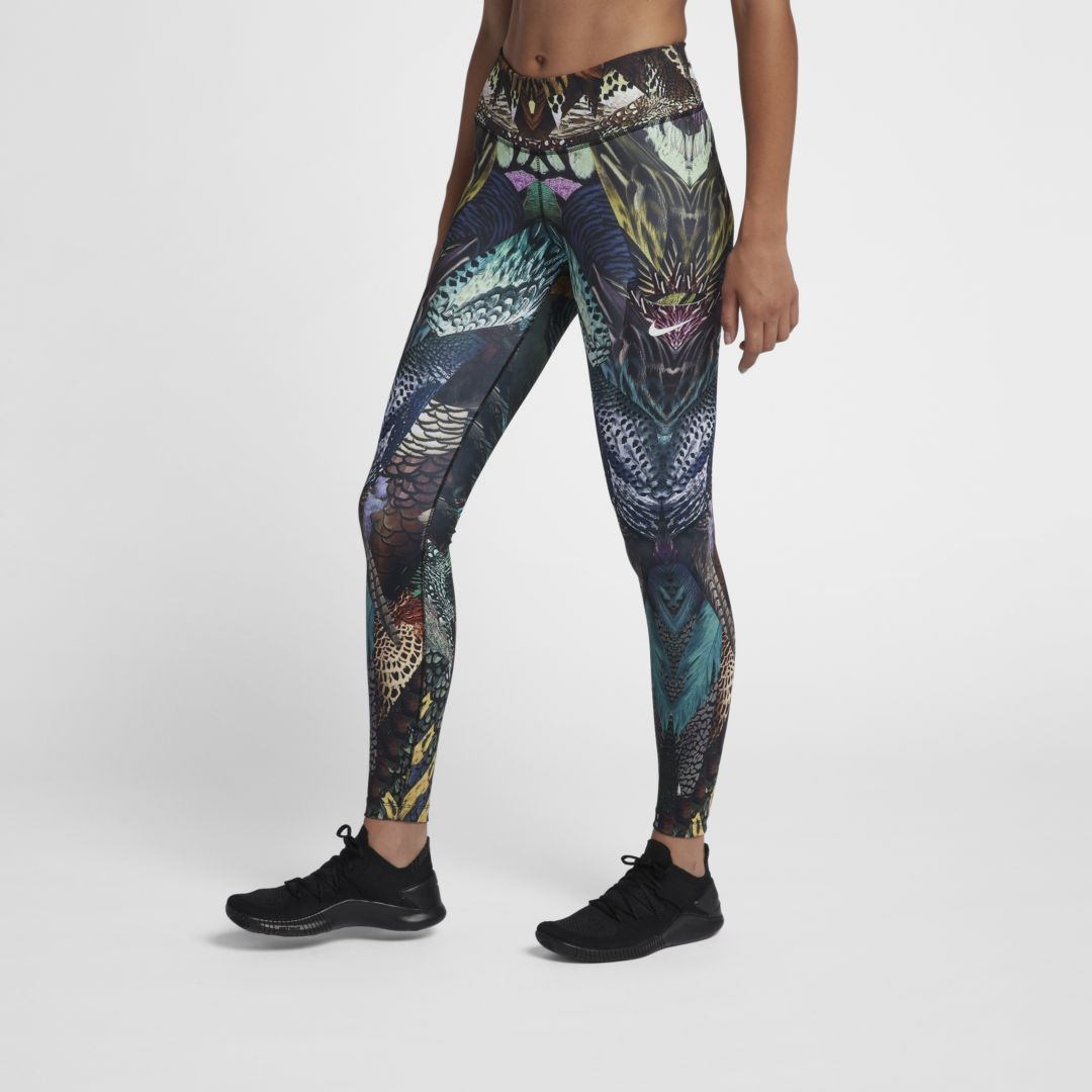 381c5bfd5a79 Nike Power Women s Mid-Rise Training Tights Size XS (Pueblo Brown ...