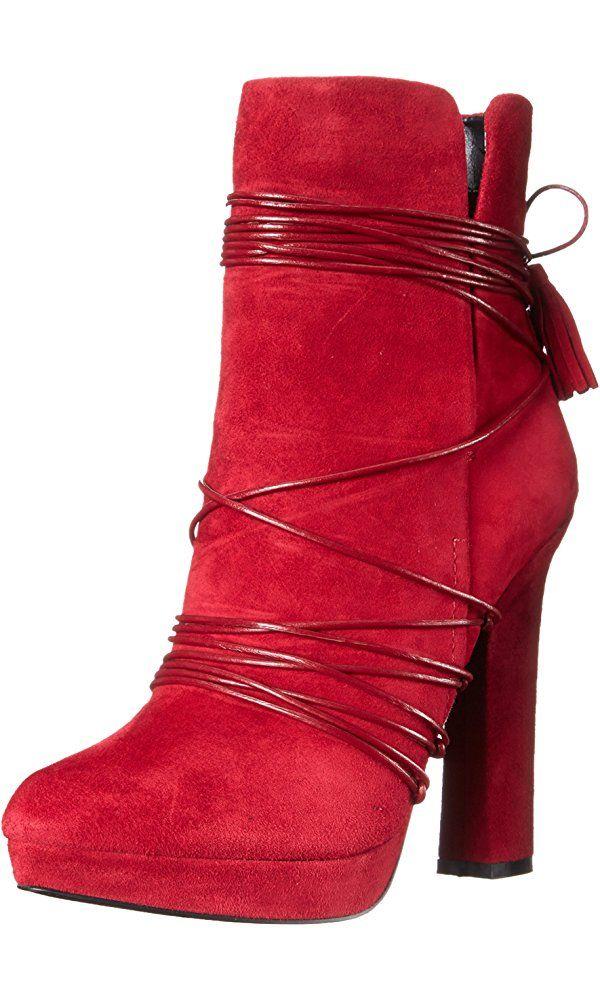 Womens Boots ALDO Uloeven Bordo Suede