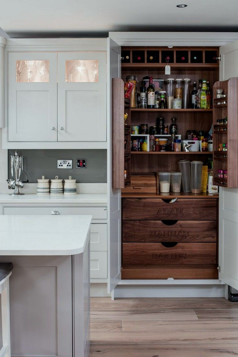30 Traditional Kitchen Cabinet With Pantry Built Into It 17 Traditional Kitchen Cabinets Kitchen Pantry Cabinets Traditional Kitchen