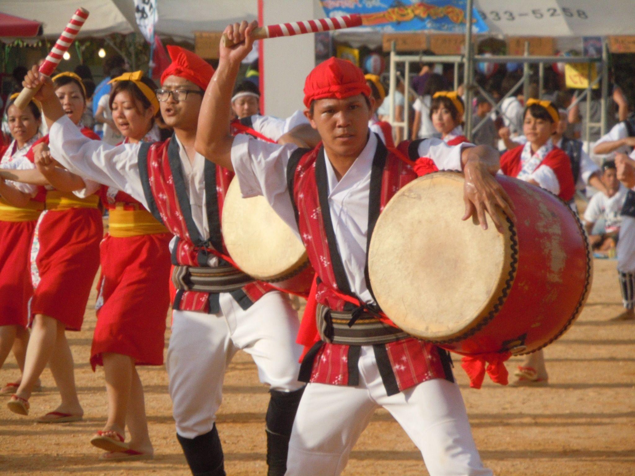 Instruments of Eisa Dance