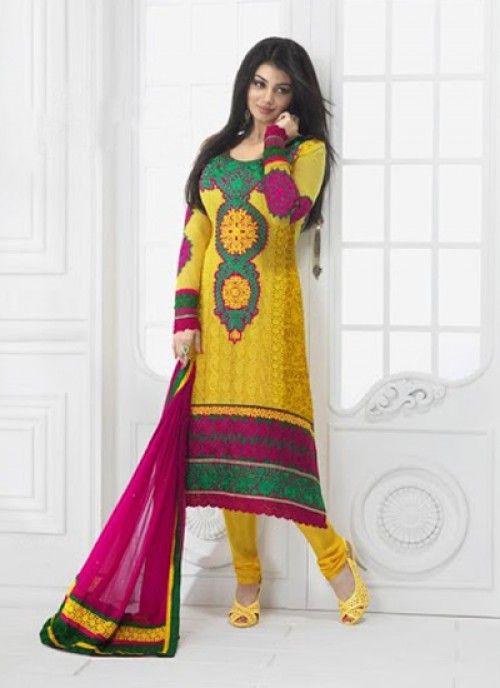 Stylish designs of salwar suits
