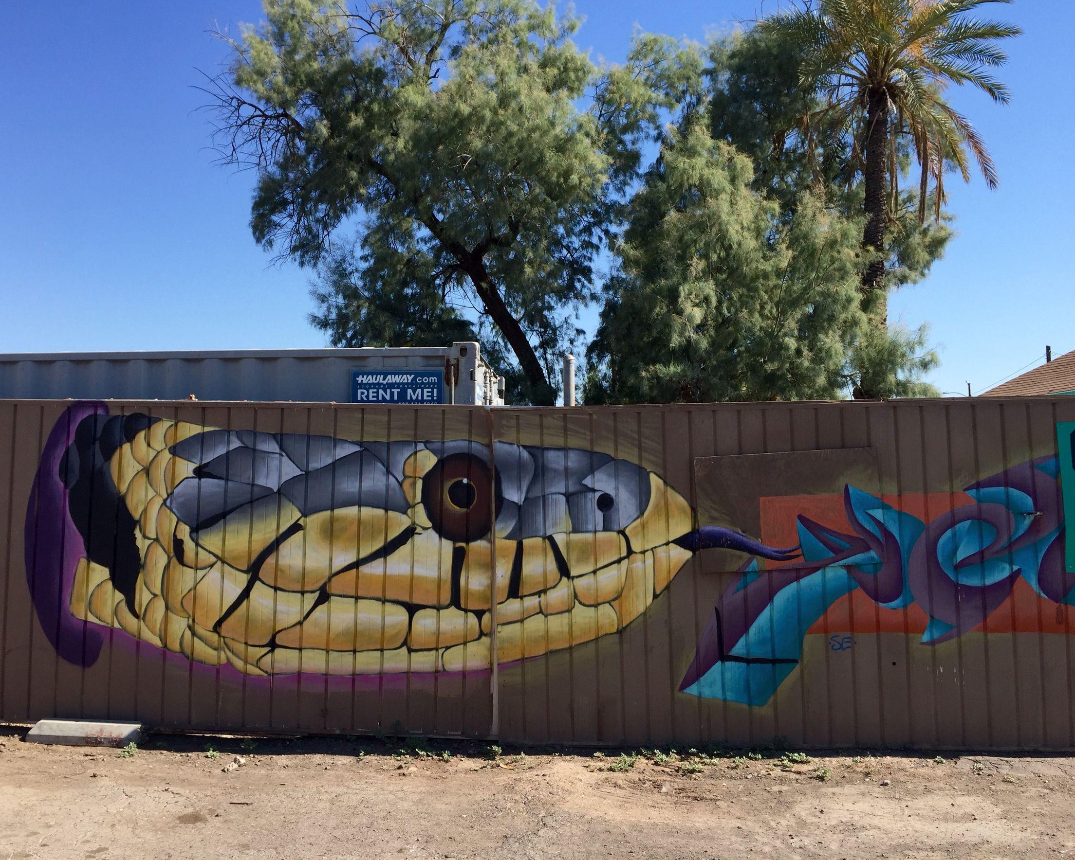 Mcdowell Corridor Phoenix Az Wallart Urban Art Mural Street Art Street Art Murals Street Art City Art