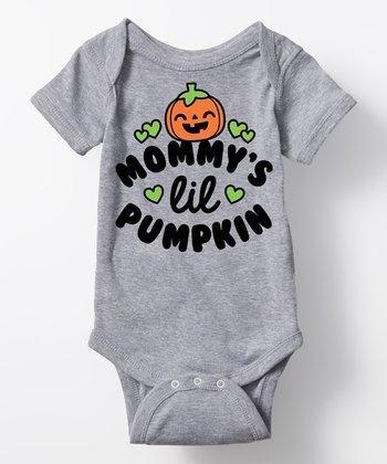 Halloween Mommy's Little Pumpkin Bodysuit