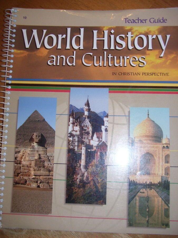 Abeka 10th Grade World History Cultures Teachers Guide
