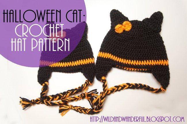 Halloween Cat | Cat crochet, Halloween cat and Crochet