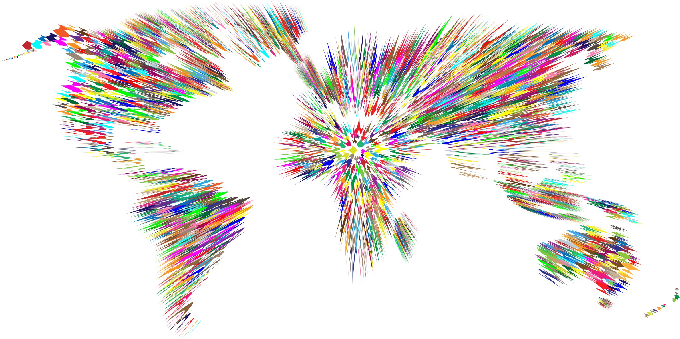 Colorful zoom motion blur world mapg 23781185 earth world map clipart png share your clipart archive and find cliparts for your design presentation and homework gumiabroncs Gallery