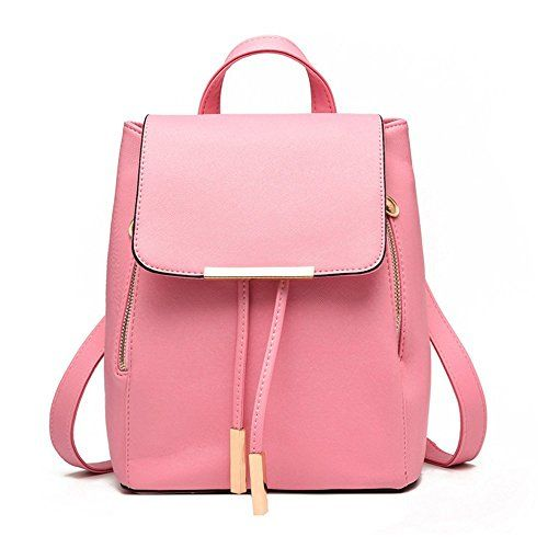 9c2b46ab58 Jonon Womens Modern Design Deluxe Fashion Backpacks L PINK   Want to know  more