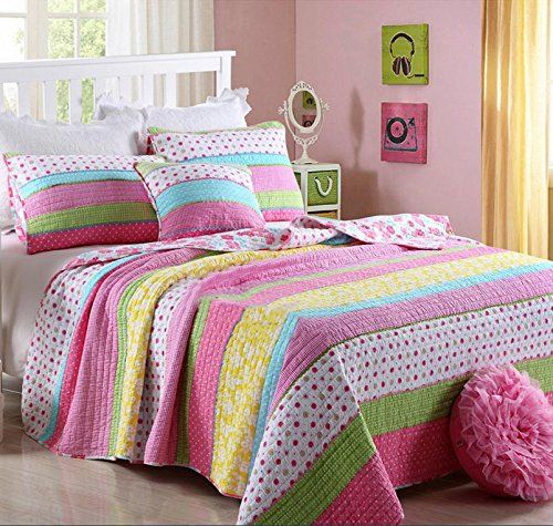 Description Great Design Add To Your Lovely Bedroom This Quilt It Can Be Used As Quilt In Spring And Summer Cool Comforters Green Bedding Set Comforter Sets