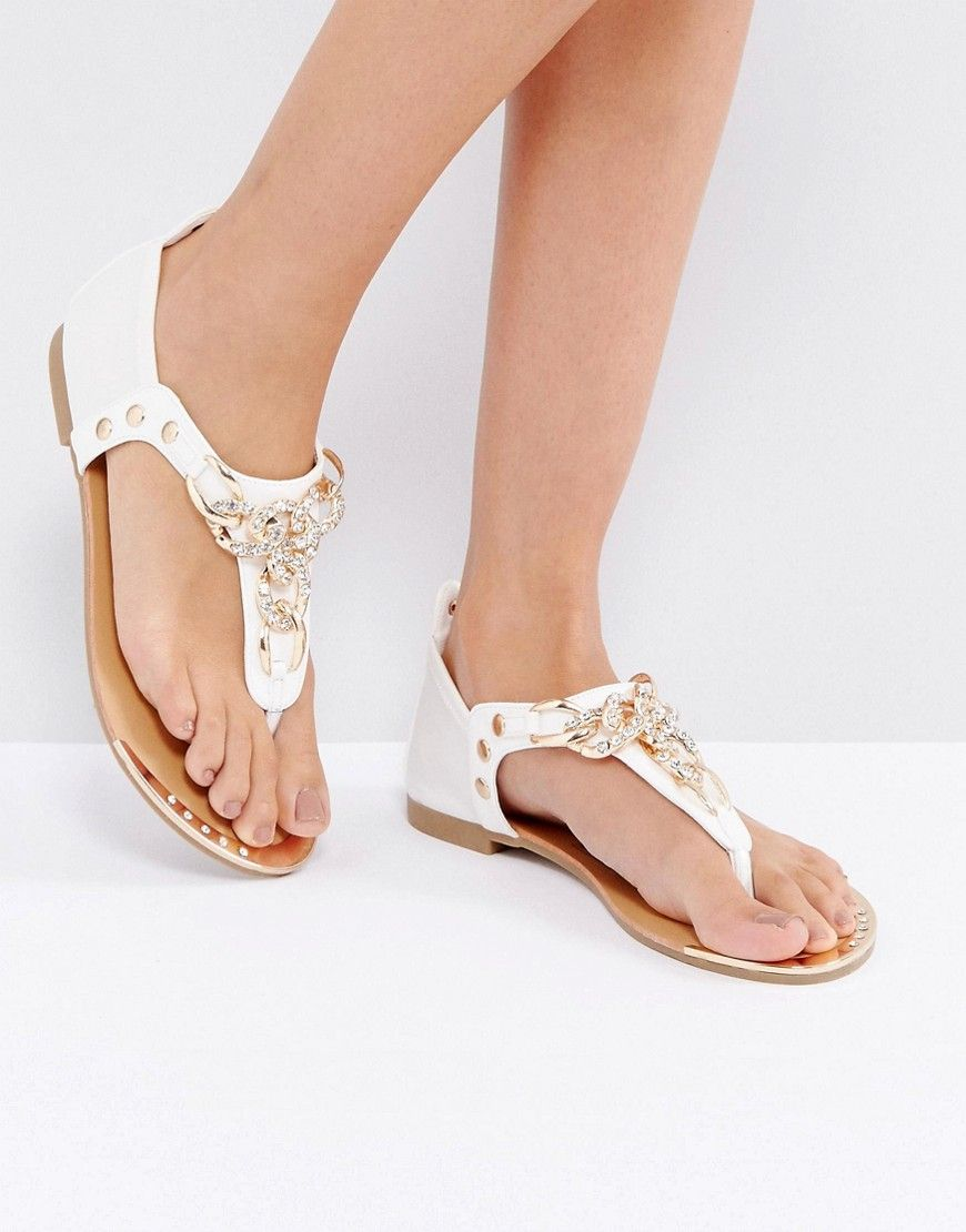 Cheap With Paypal Purchase Online Studded Flat Sandals - Tan Truffle Clearance Geniue Stockist Clearance For Sale 97eCot6B