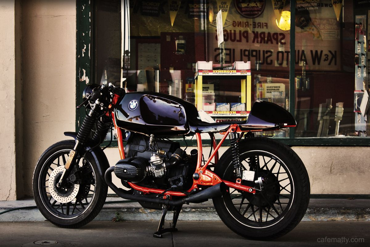 81 bmw r65 cafe racer |cafe matty in dallas | ride lifestyle