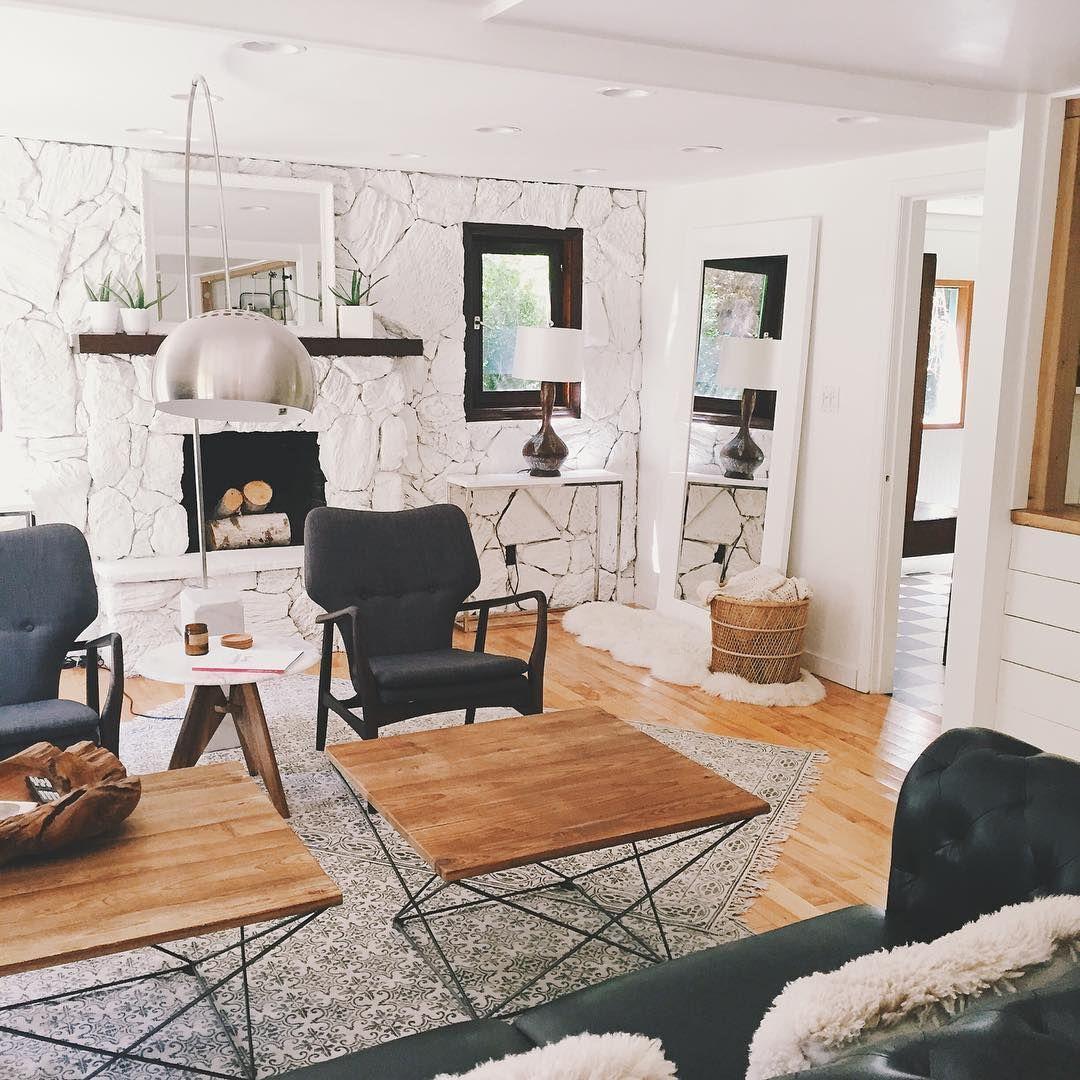10 Modern Farmhouse Living Room Ideas: Modern Farmhouse Living Room. Furniture From Allmodern.com
