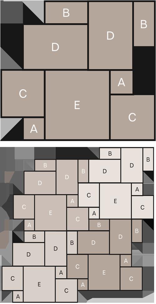 Stone tile laying pattern - Marshalls Opus | Marshalls Tile and ...