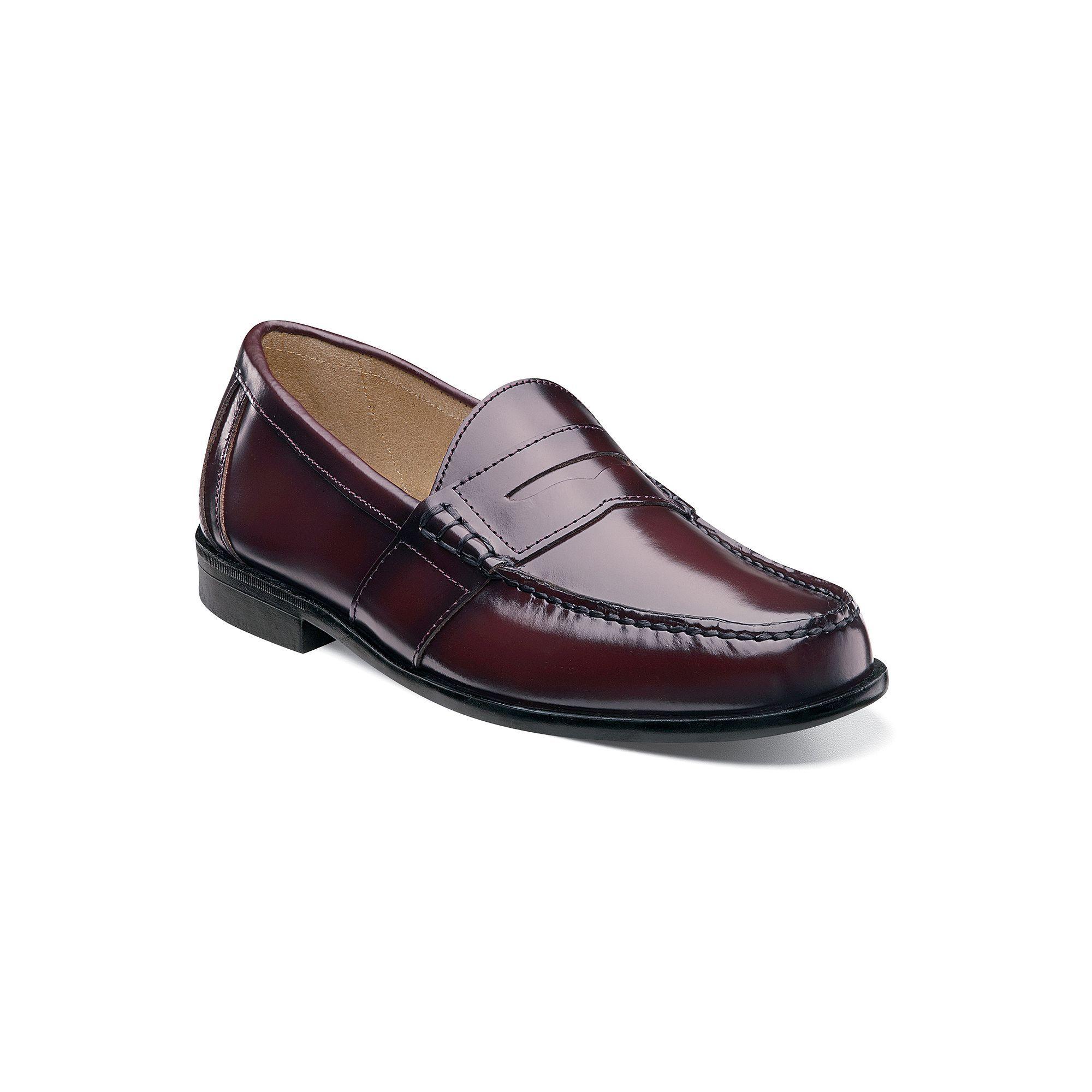 2eb1972babd Nunn Bush Kent Men s Moc Toe Penny Loafer Dress Shoes