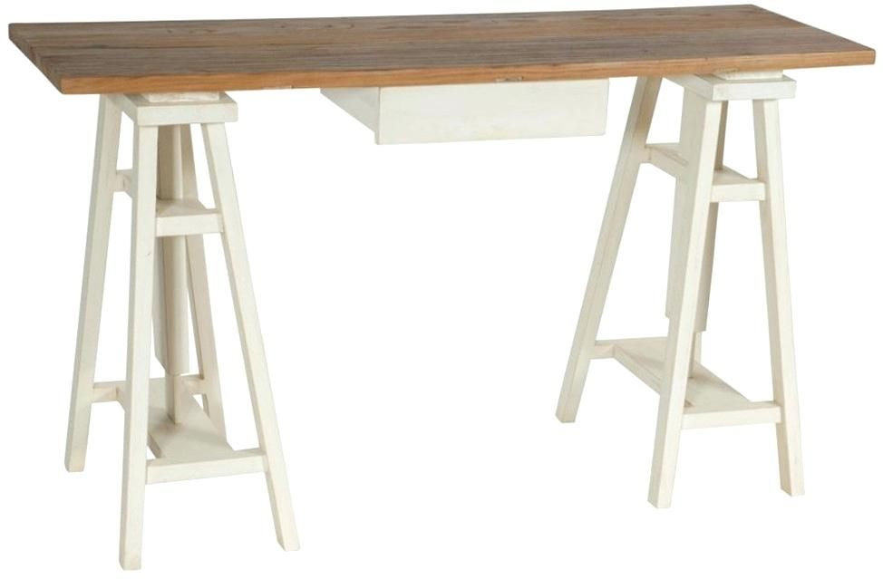 Bureau bois et blanc bureau bois et blanc meetharryco table in