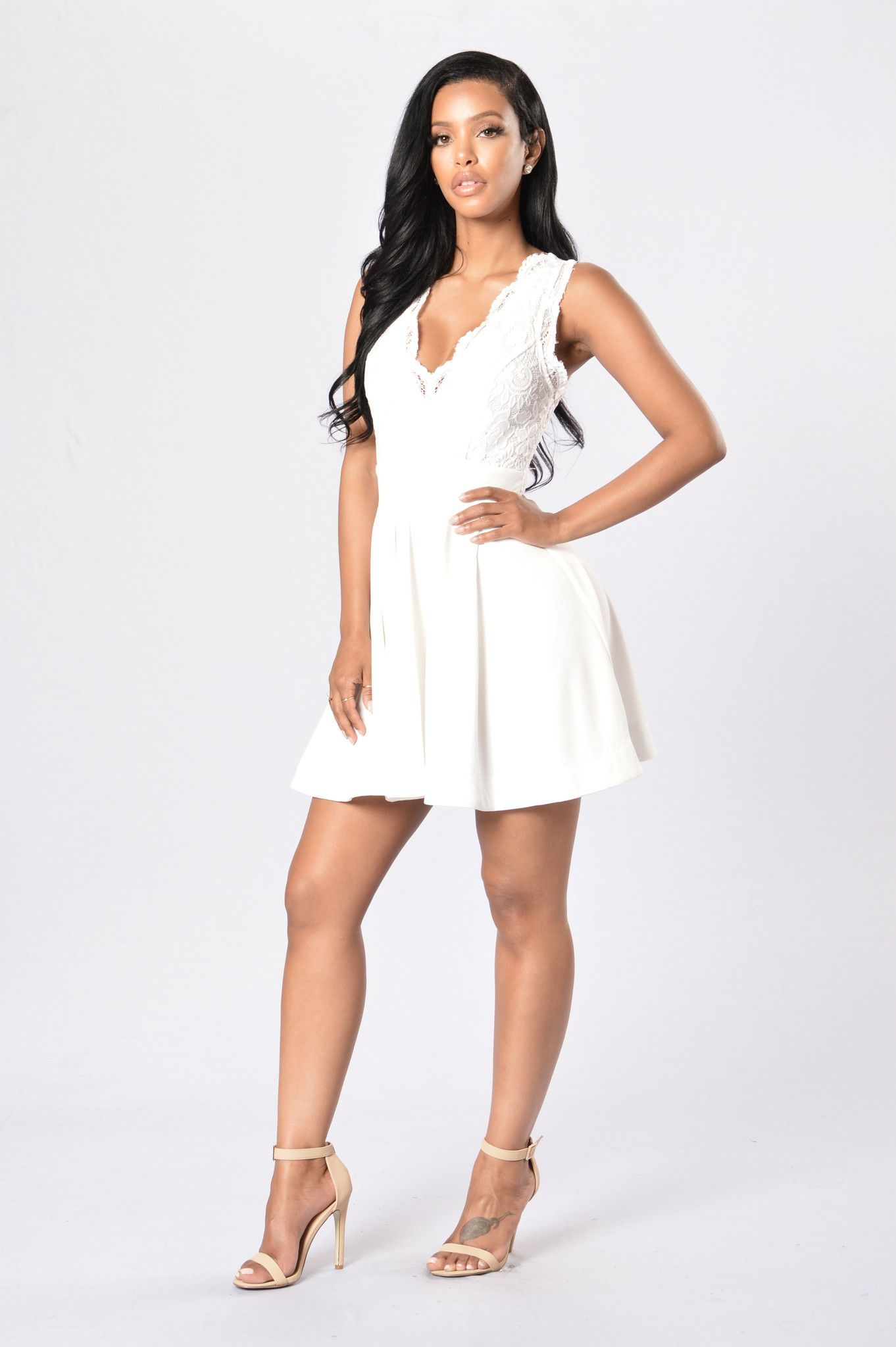 e4ac56787f Apple Of My Eye Dress - Ivory