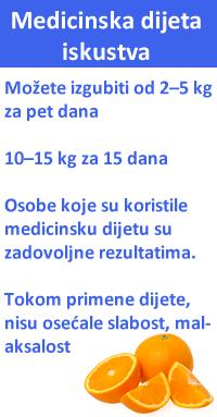medicinska dijeta 15 dana