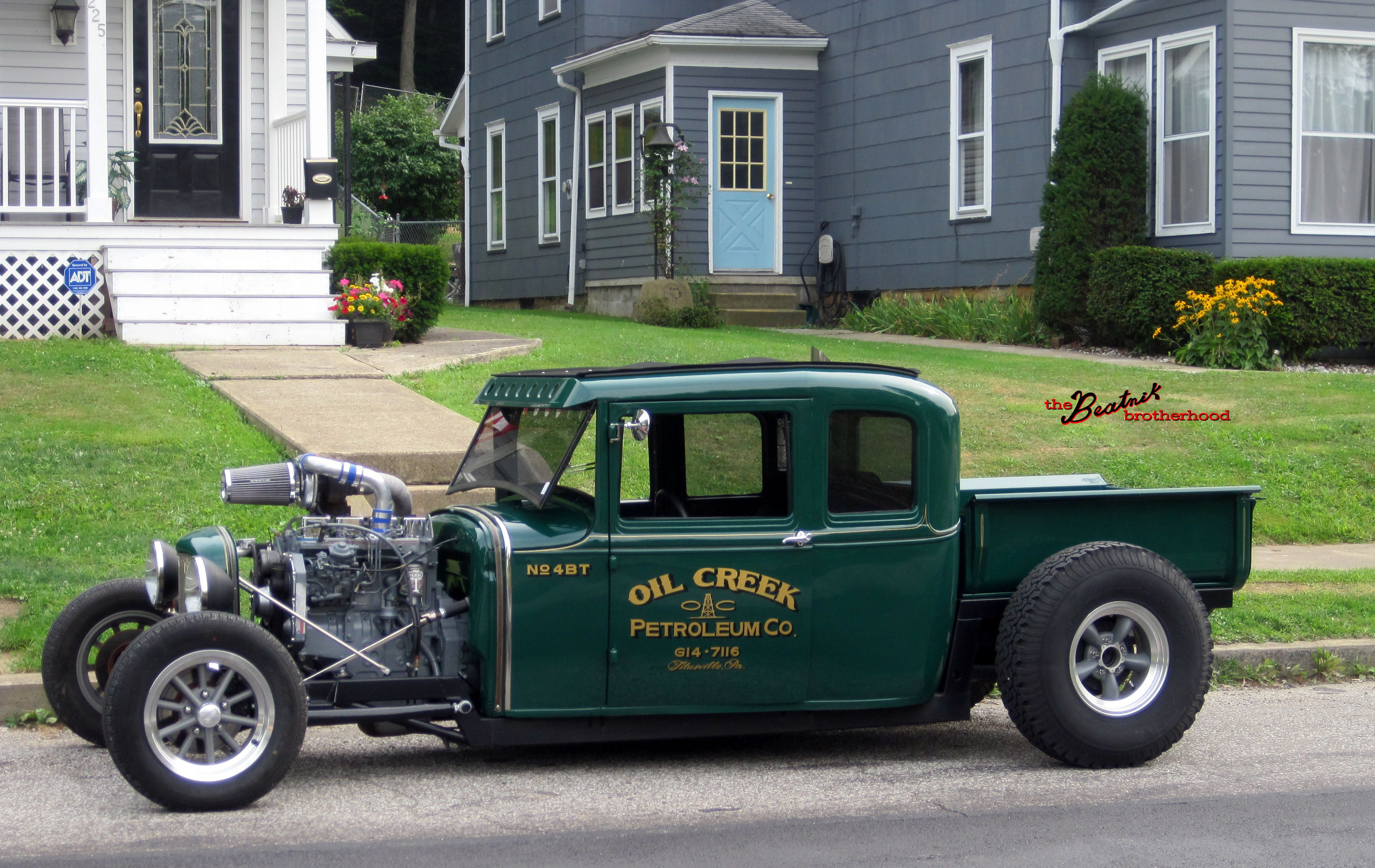 Old Hot Rods | Cummins Diesel Hot Rod – Turbo Ford Model A | The ...