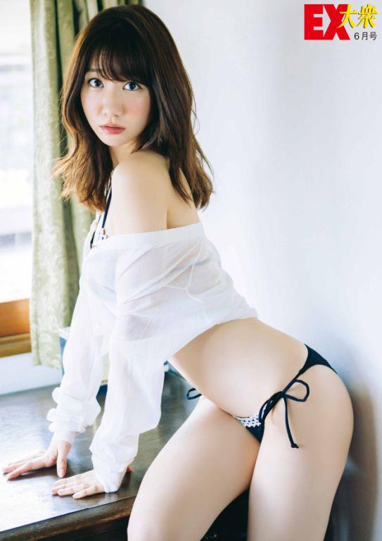 体のラインが綺麗すぎる柏木由紀さん