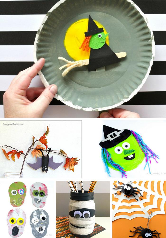 Kid-Friendly Halloween Crafts | Arty Crafty Kids