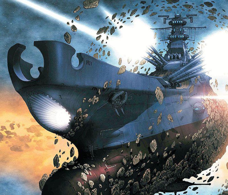 Space Battleship Yamato 2202 Report 9 Cosmodna Space Battleship Battleship Yamato