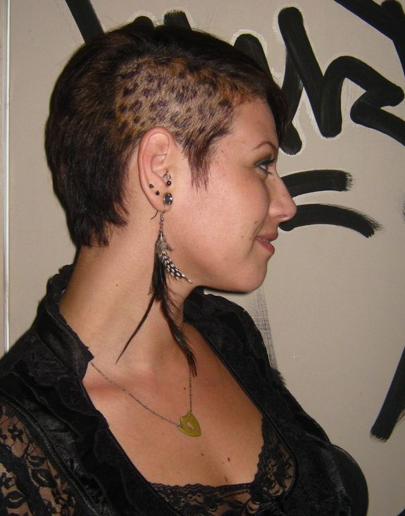 leopard print head tattoo tattoo's