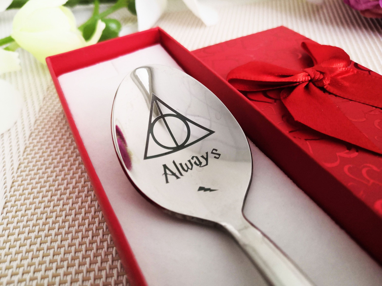 Harry potter gift always severus snack inspired spoon