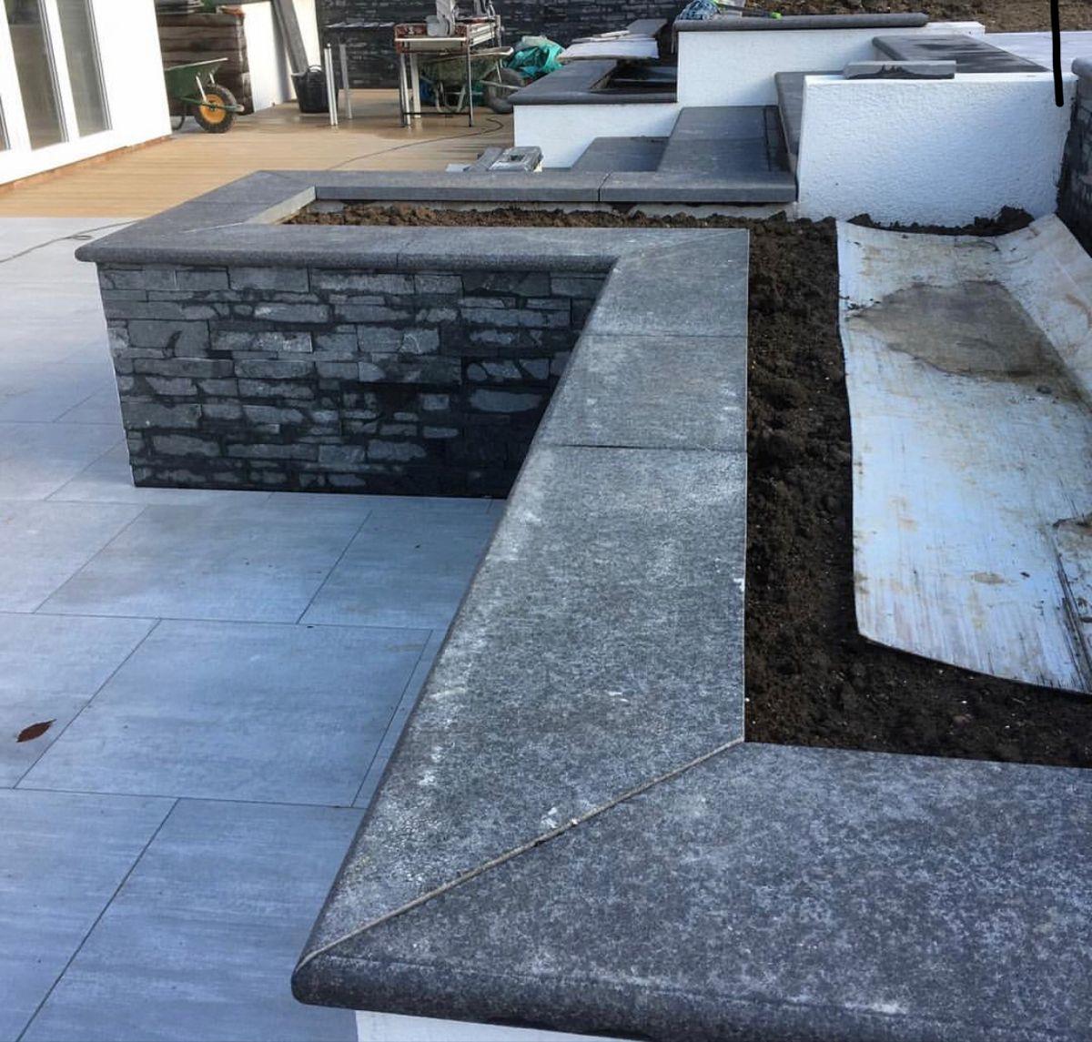 Granite Coping In 2020 Garden Paving Coping Stone Stone Uk