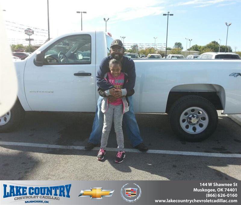 #HappyAnniversary to Bobby Kendrick on your 2011 #Chevrolet #Silverado 1500 from Jenny Cox at Lake Country Chevrolet Cadillac!