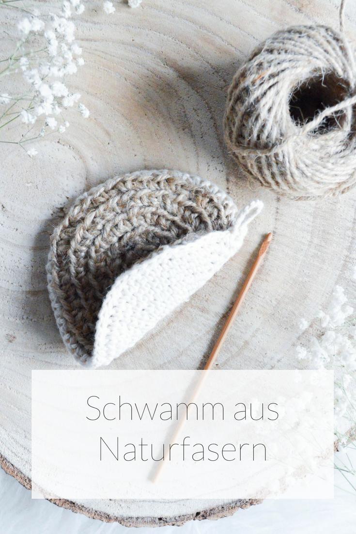 Spühlschwamm Aus Paketschnur Anleitungen Pinterest Crochet