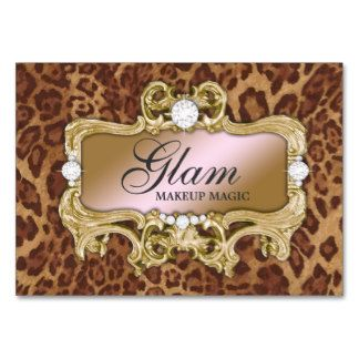 Glam crazy pink gold leopard business card templates leopard glam crazy pink gold leopard business card templates colourmoves Image collections